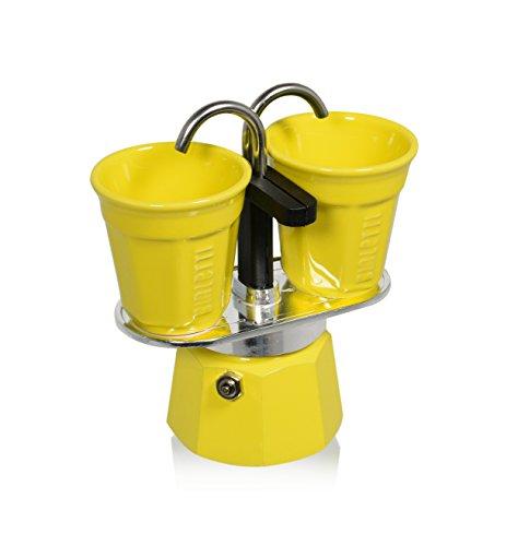 Bialetti 6193 Mini Express Espresso Maker Set, Yellow