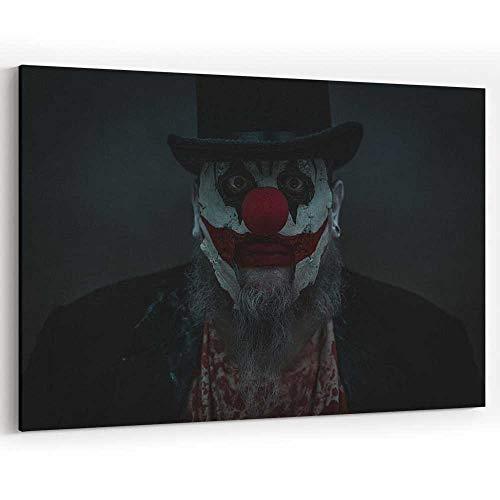 Creepy Clown Creepin Canvas Prints Wall Art Painting Wall Art Picture Print on Canvas