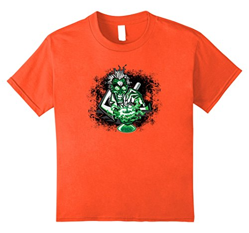 Kids Mad Scientist Scary Halloween Costume T Shirt 10 Orange - Halloween Costume Mad Scientist Child