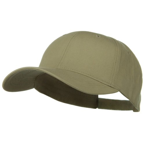 Big Bill Khaki (New Big Size Deluxe Cotton Cap - Khaki (For Big Head))