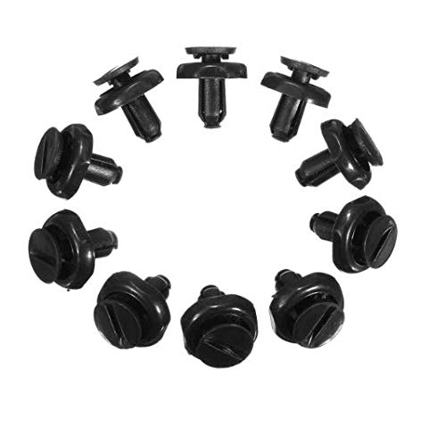 DaFFeng 7mm Radiator Cover Clips Engine Cover Trim Clips for Toyota Avensis: Amazon.co.uk: DIY & Tools