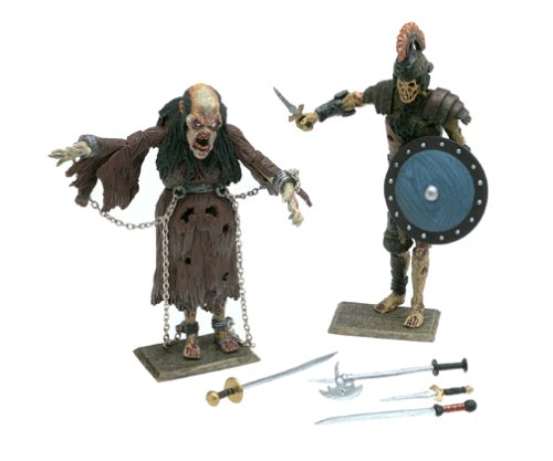 Distributoys Army of Darkness Pit Witch and Deadite Centurion Action Figures