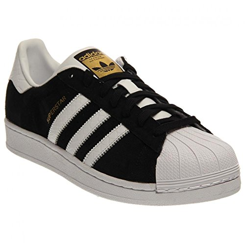 new style b8b00 f97c6 Mens Adidas Superstar East River Rivalry Black   White   Gold - Import ...