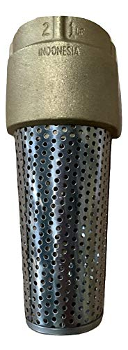 Foot Valve Strainer - PROFLO PFXBFVK 2 Inch Foot Valve with Stainless Steel Strainer