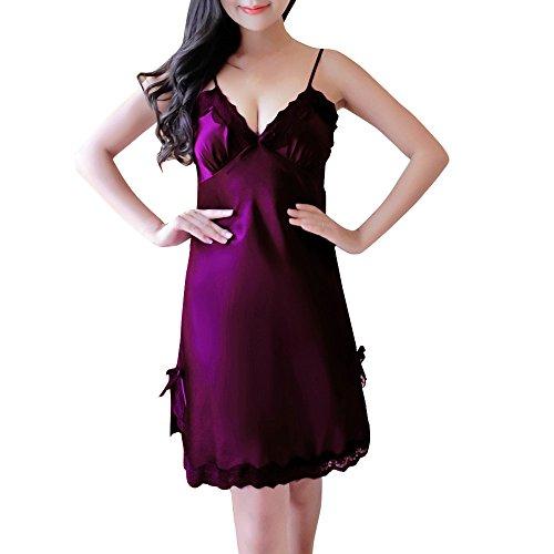 Pigiama Roiper Donna pezzi Purple Dark due d4wZ4v