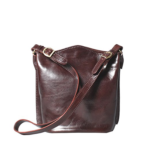 Maxwell Chocolate Body Purse Dark Scott Cross Leather Luxury Palermo 88vA6qr