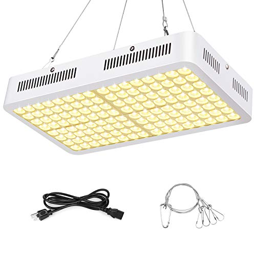 Grow Lights for Indoor Plants, Roleadro 800W LED Grow Light Plant Full Spectrum 3500k Grow Lamp with Dual-Chip ON/Off Switch for Seedling, Vegetative, Flower, Micro Greens, Clones and Succulents-800W