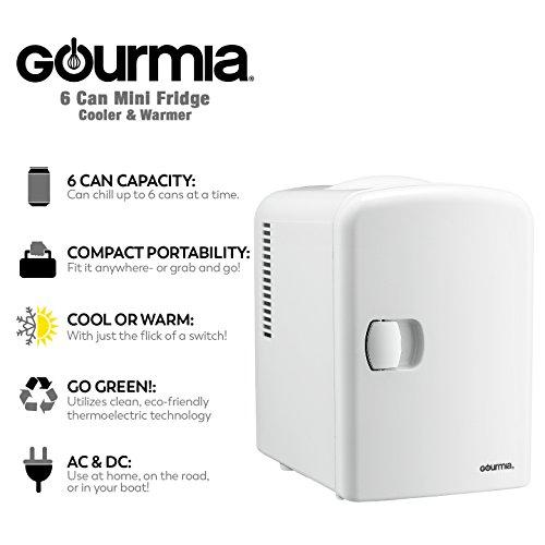 Review Gourmia GMF600 Portable 6