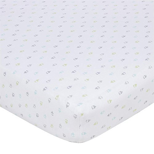 Gerber Knit Crib Sheet - Multi Elephant by Gerber Childrenswear