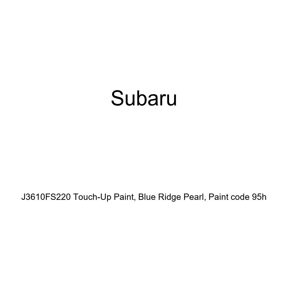 Genuine Subaru J3610FS220 Touch-Up Paint, Blue Ridge Pearl, Paint code 95h