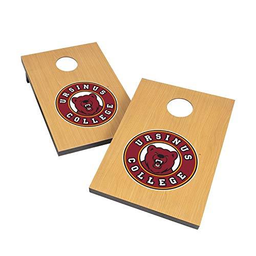 Victory Tailgate NCAA Collegiate 2x3 Cornhole Set - 2 Boards, 8 Bags - Ursinus College Bears ()