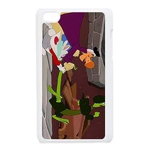 Disney Alice In Wonderland Character The Dodo funda iPod Touch 4 caja funda del teléfono celular blanco cubierta de la caja funda EEECBCAAB17194
