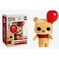Disney Ursinho Pooh Boneco Pop Funko Exclusivo Flocked