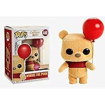 [Patrocinado] Funko Pop! Christophe Robin Flocked Winnie the Pooh (Globo de sujeción) #440 (Caja de almuerzo exclusivo)