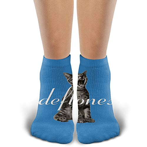 (TYDJL Deftones Logo Sports Outdoor Casual Cotton Stitching Soft and Comfortable Socks for Men and)