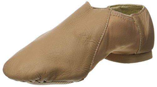 So Danca Girls' Jze45 Jazz Shoes Beige (Caramel)
