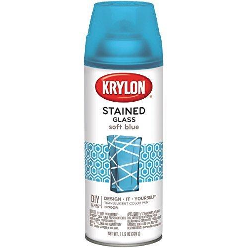 Krylon ステンドグラスペイント 11.5オンス ソフトブルーの商品画像
