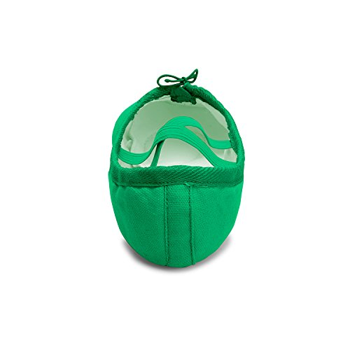Shoes Yoga Kids Ballet RUN L Slippers Green Dance Shoes Leather Belly Womens Girls SnXw4R