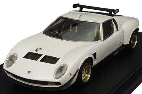 1/43 Lamborghini Miura Jota SVR ホワイト  フル開閉モデル F004-02