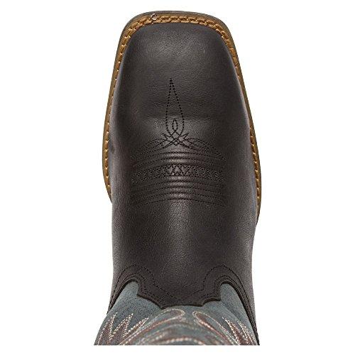 Durango Dwdb020 Menns Svart Grafitt Western Boot Sort / Grafitt