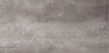 Fliesenmax Feinsteinzeug Bodenfliese Beryll Grau 40x80cm Steinoptik