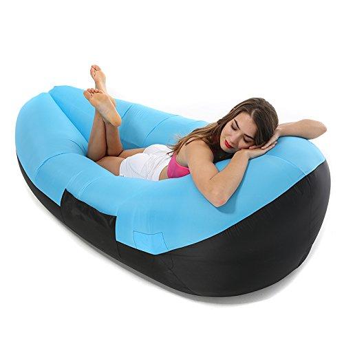 Amazon.com : Inflatable Lounger Air Sofa, Air Hammock ...