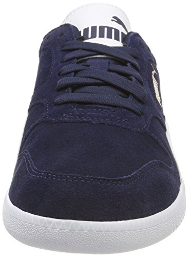 Puma White Icra Mixte Sd puma 35 Trainer peacoat Adulte Basses Baskets Bleu rrxBRcvqdw