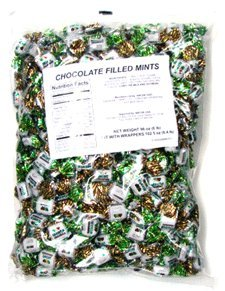 Arcor Chocolate Filled Mints 2.5 Lbs (Chocolate Filled Mints)