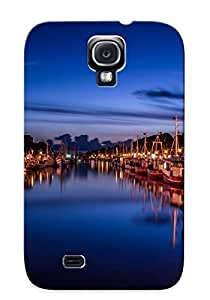 Crazinesswith Scratch-free Phone Case For Galaxy S4- Retail Packaging - Warnemunde Harbor