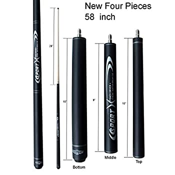 Image of Champion BK3 Jump & Break Cue, Pool Glove, Aim Trainer, Pure Shaft Technology, Retail Price: MSRP $289 Cue Sticks & Accessories