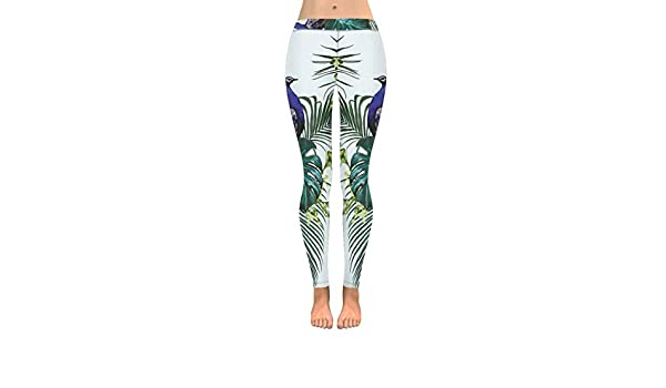 InterestPrint Womens Soft Slim Leggings Hearts Skulls Running Workout Active Leggings XXS-5XL