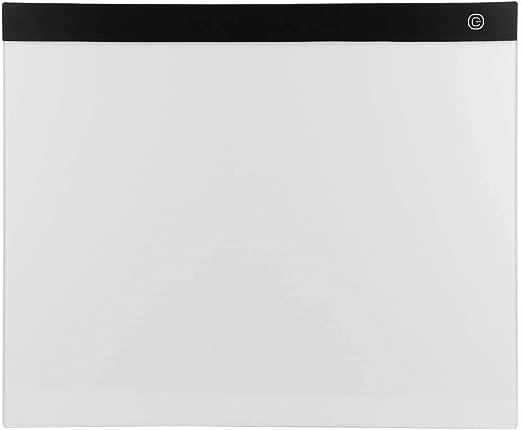 A3 LED Dibujo Tablero de Copia Rastreo Caja de Luz Plantilla Lápiz Ultra Fino Ajustable Dibujo Cojín de Copia para Artistas del Tatuaje Diseñando Bocetos Animación Gráfica: Amazon.es: Hogar