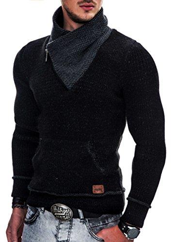 MAKI Herren Strickpullover Strick Pullover Jacke Hoodie Hoody S M L XL From  MAKI Styles da221cb9b6