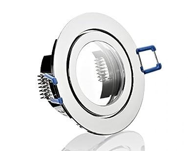 12 V 3 W LED Lampe IP44 Feuchtraum Bad Strahler Einbaustrahler Leuchte kaltweiss