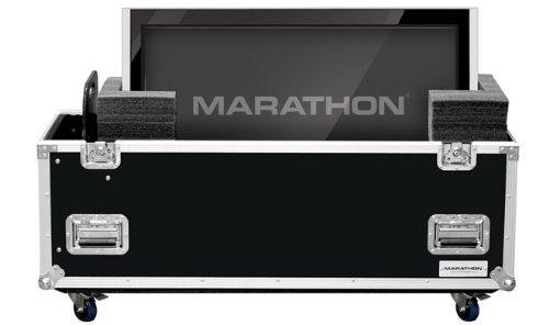 Marathon Flight Road Case MA2PLASMA32W Universal Case with Casters for Two Plasma 32-Inch Monitors by Marathon