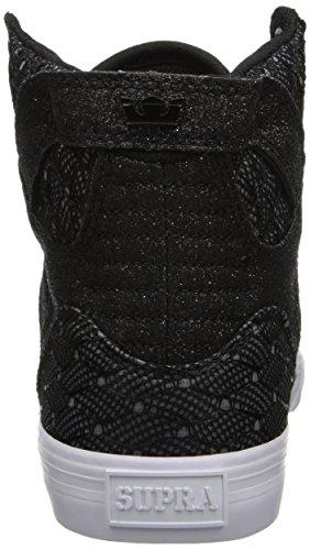 Supra SKYTOP - Zapatilla alta de lona mujer Negro (BLACK/WHITE - WHITE   BWW)