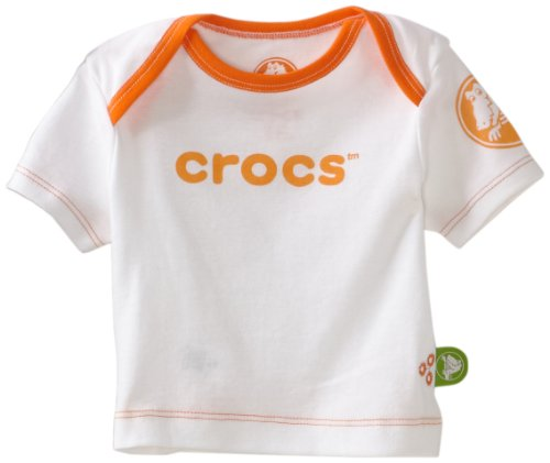 Crocs Unisex Baby Short Sleeve Sleep Tee