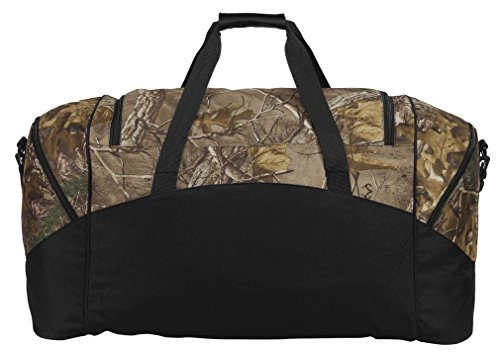 Broad Bay Large Realtree Camo Texas Tech Duffel Bag Or Camo Texas Tech Gym Bag by Broad Bay (Image #1)