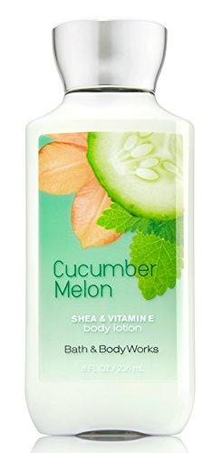 Bain & Body Works Shea & vitamine E Lotion Concombre Melon 8 oz