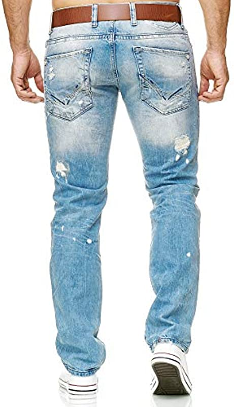 Redbridge Dżinsy męskie Destroyed Denim spodnie jeansowe RB-157   RB-162   RB-171: Odzież