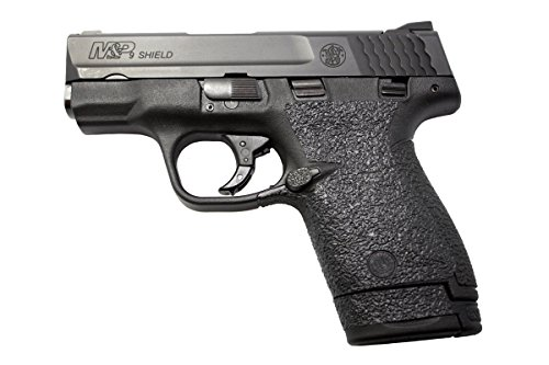 Textured Black Rubber Grip (GripOn Textured Rubber Grip Wrap for Smith & Wesson M&P Shield 9/40 (Black))