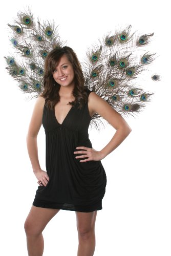 Zucker Feather Products Decorative Natural Peacock Wings - Peacock Wings