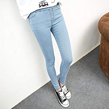 Amazon.com: Culturemart New Simple Fashion Womens Jeans ...
