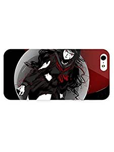 iPhone 5&5S Case - Anime - Blood C 3D Full Wrap