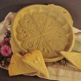 Brown Bag Meadow Flowers Shortbread Pan