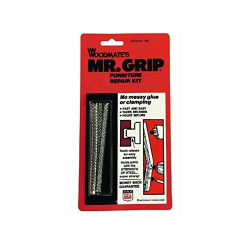Woodmate 1298-KS Mr. Grip Furniture Repair Kit, Pack of 1, Steel (Chair Stripped)