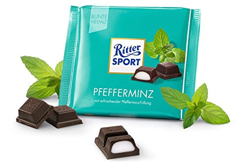 Ritter Sport Choc Bar Peppermnt