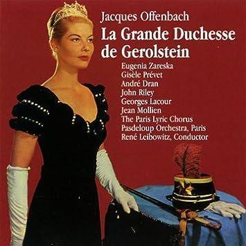 La Grande-Duchesse de Gérolstein discography