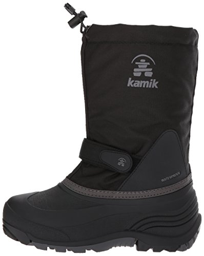 Pictures of Kamik Girls' Waterbug5 Snow Boot Black/Charcoal NK4771S 5