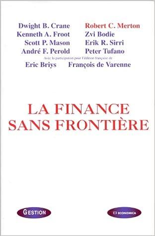 En ligne téléchargement La finance sans frontière epub pdf